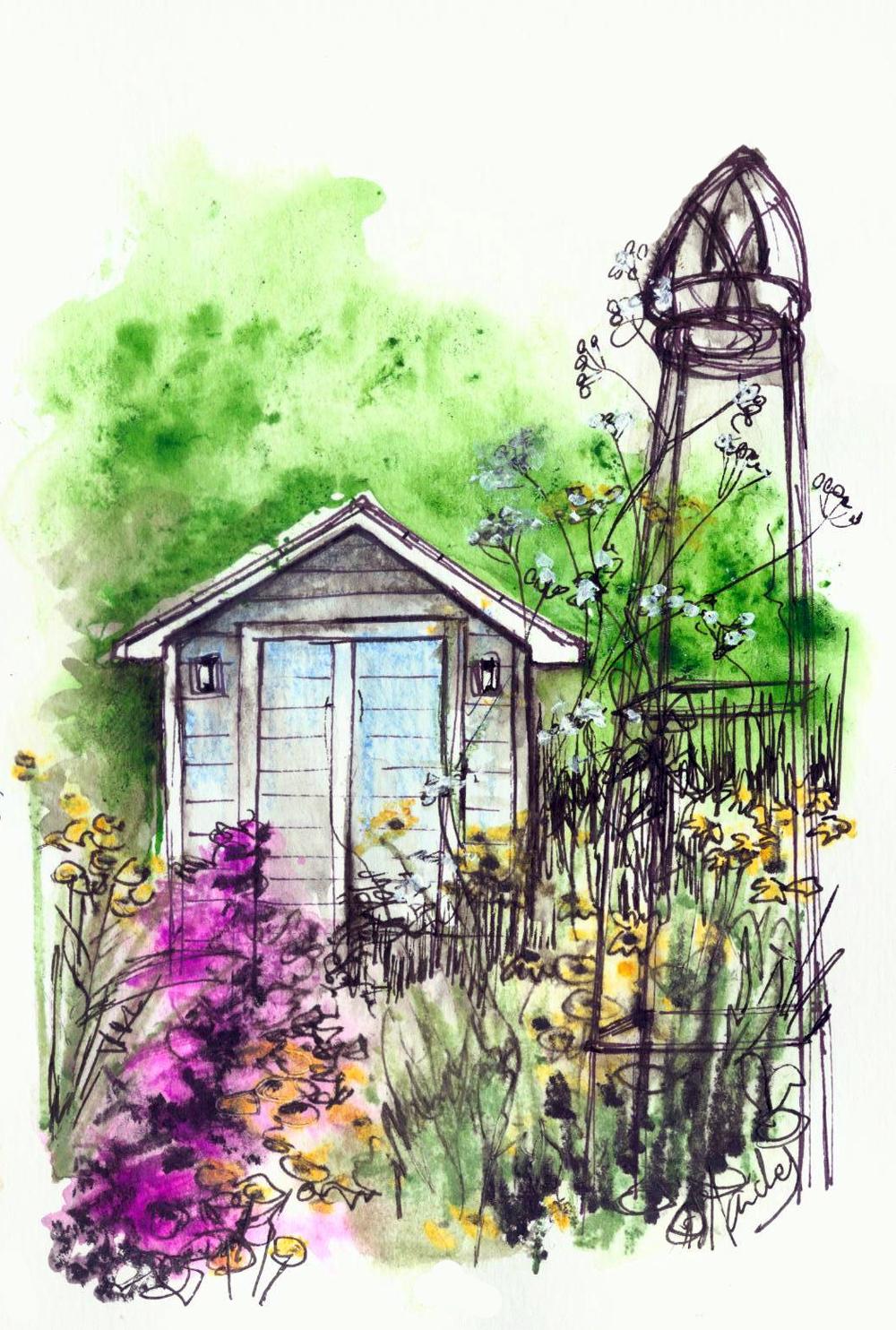 paysagiste clermont ferrand représenter un jardin 1