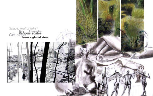 paysagiste clermont ferrand dessin le corps et l'espace