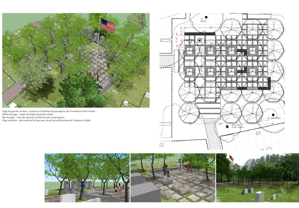 Un espace public pour une mémoire commune paysagiste Clermont-Ferrand