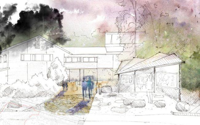 Bienvenue au jardin botanique de Chapel Hill paysagiste Clermont-Ferrand 1