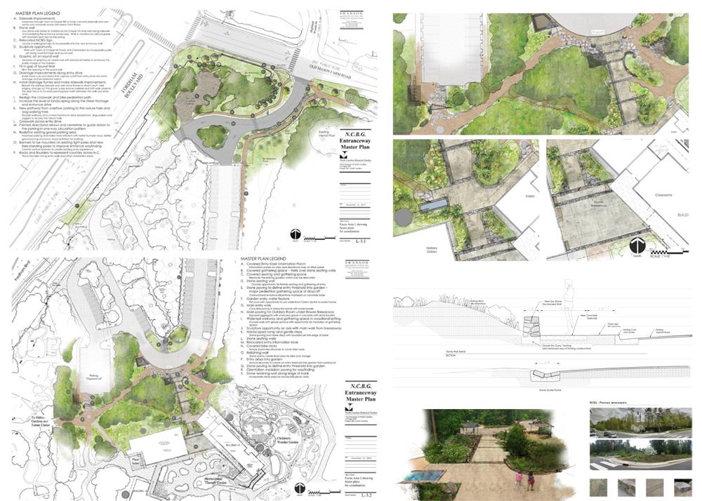 Bienvenue au jardin botanique de Chapel Hill paysagiste Clermont-Ferrand
