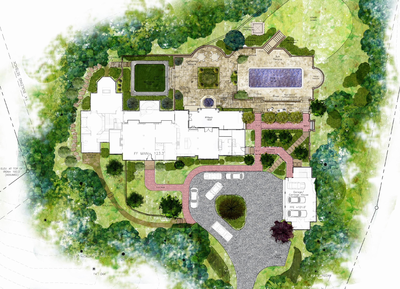 étapes de projet Détente en terrasses, version luxe paysagiste Clermont-Ferrand 9