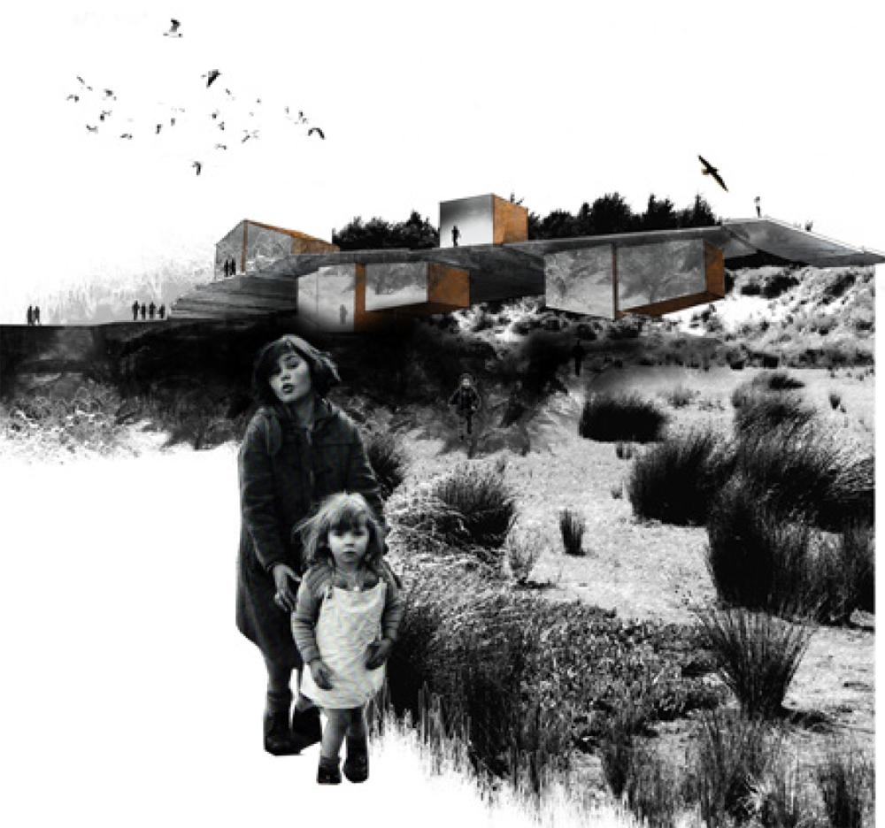 Habitat éphémère en Nouvelle Zélande LMP paysagiste Clermont-Ferrand 1