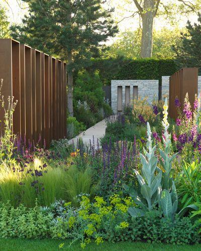 jardin anglais moderne paysagiste Clermont-Ferrand