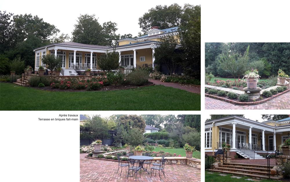 Jardin classique vs extension architecturale paysagiste Clermont-Ferrand 2