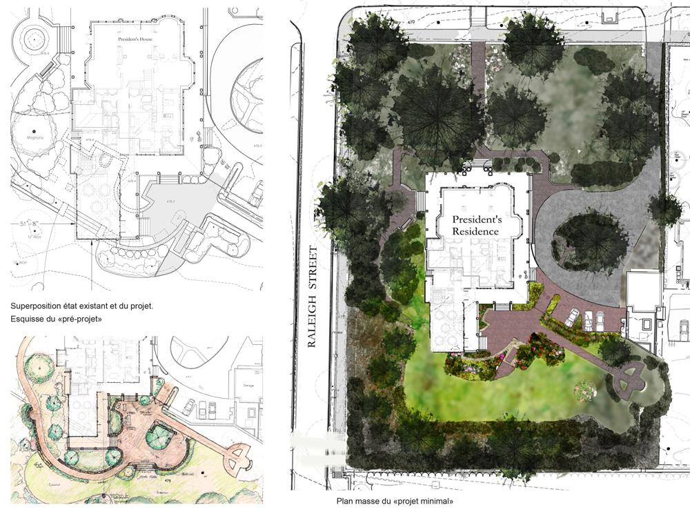 Jardin classique vs extension architecturale paysagiste Clermont-Ferrand 3