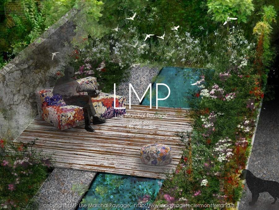 jardin concept bassin paysagiste Clermont-Ferrand 3
