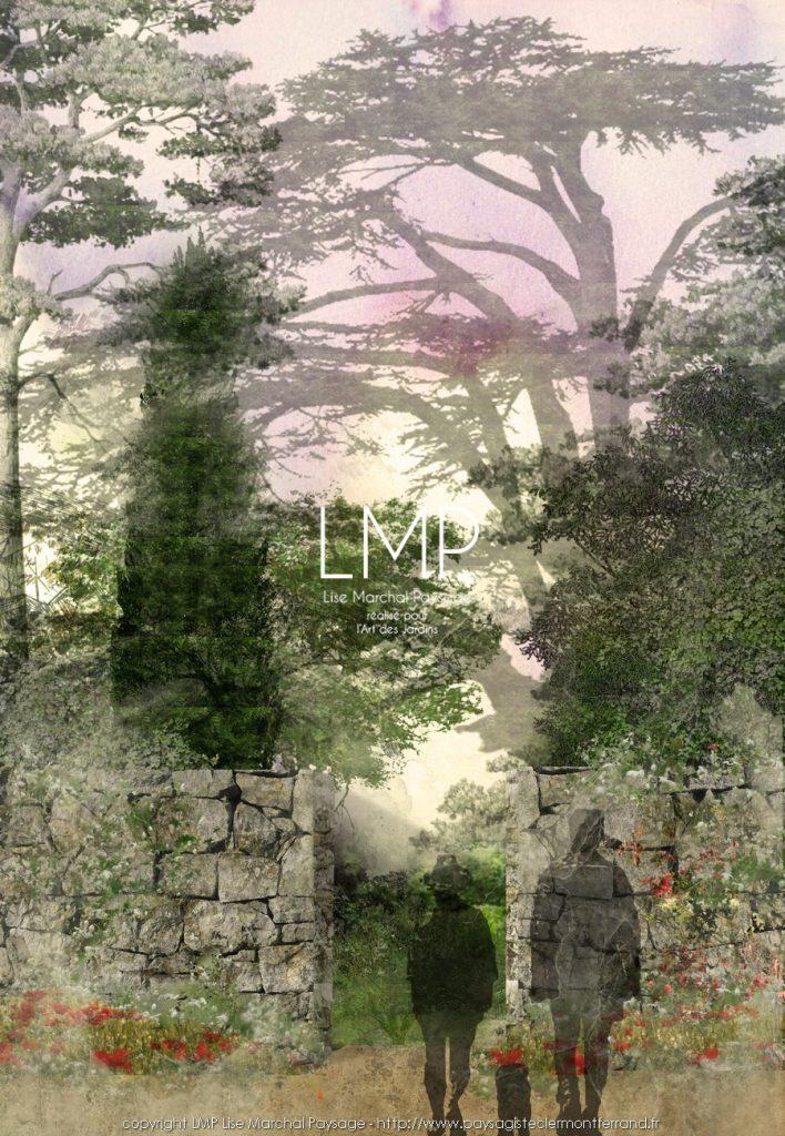 jardin concept végétal architectural paysagiste Clermont-Ferrand