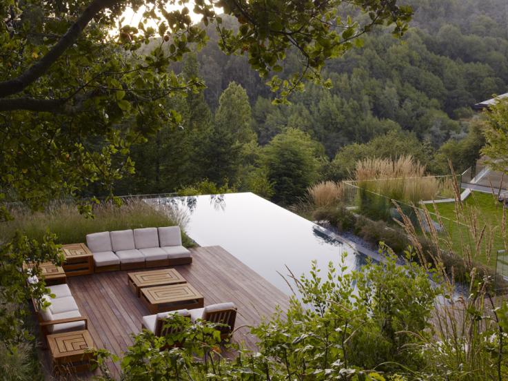 jardin contemporain paysagiste Clermont-Ferrand