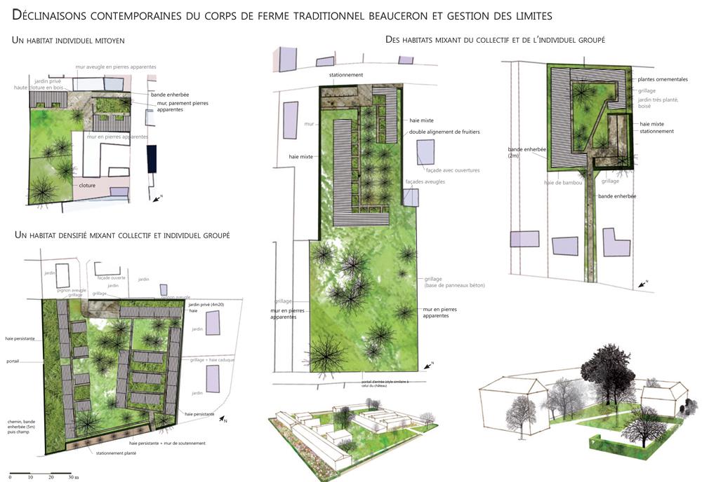 La densité comme moyen de retrouver une cohérence paysagiste Clermont-Ferrand 3