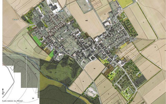 La densité comme moyen de retrouver une cohérence paysagiste Clermont-Ferrand 4