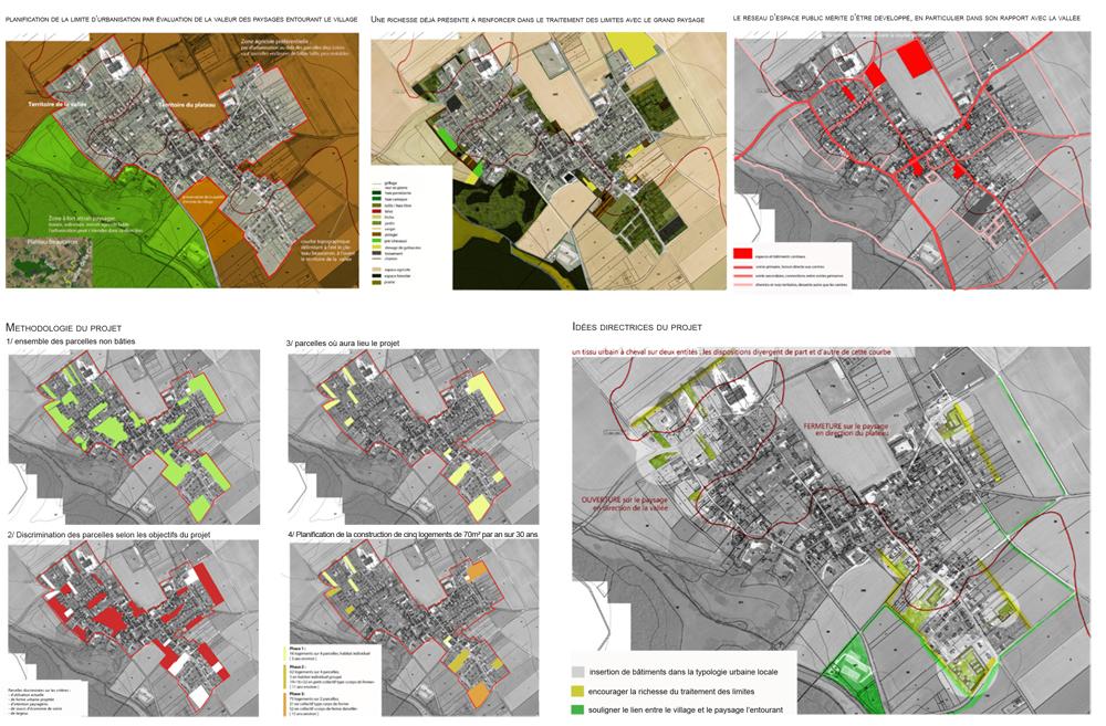La densité comme moyen de retrouver une cohérence paysagiste Clermont-Ferrand 5