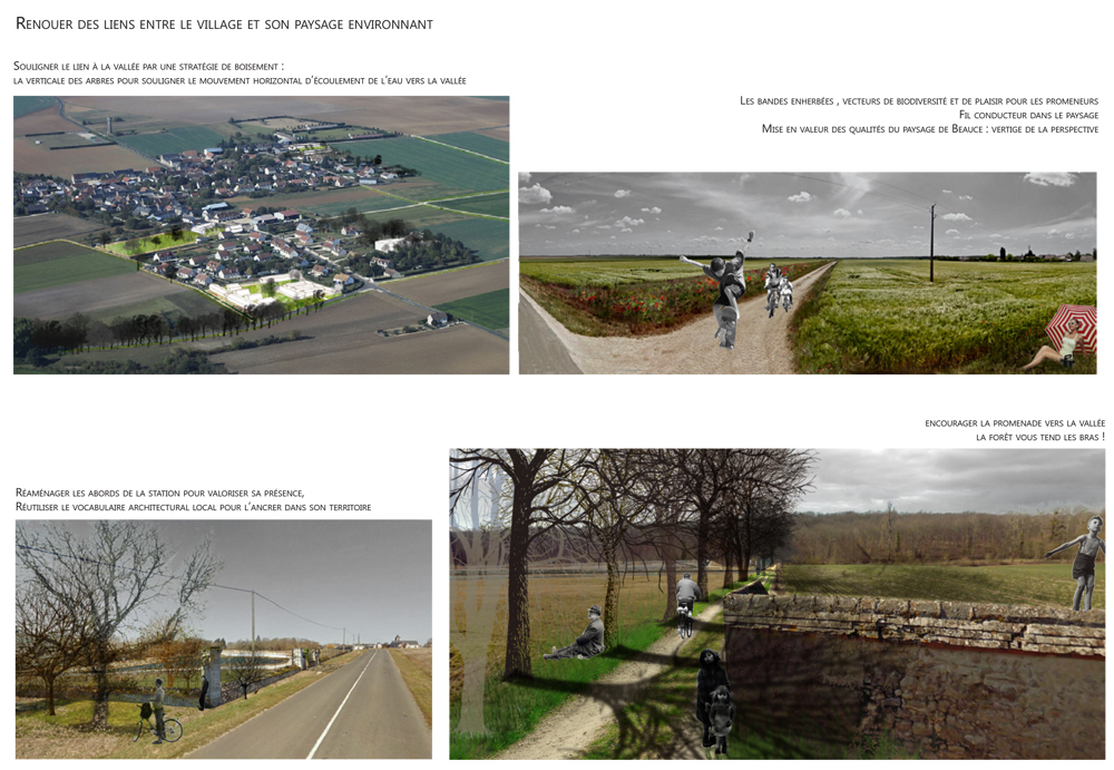 La densité comme moyen de retrouver une cohérence paysagiste Clermont-Ferrand