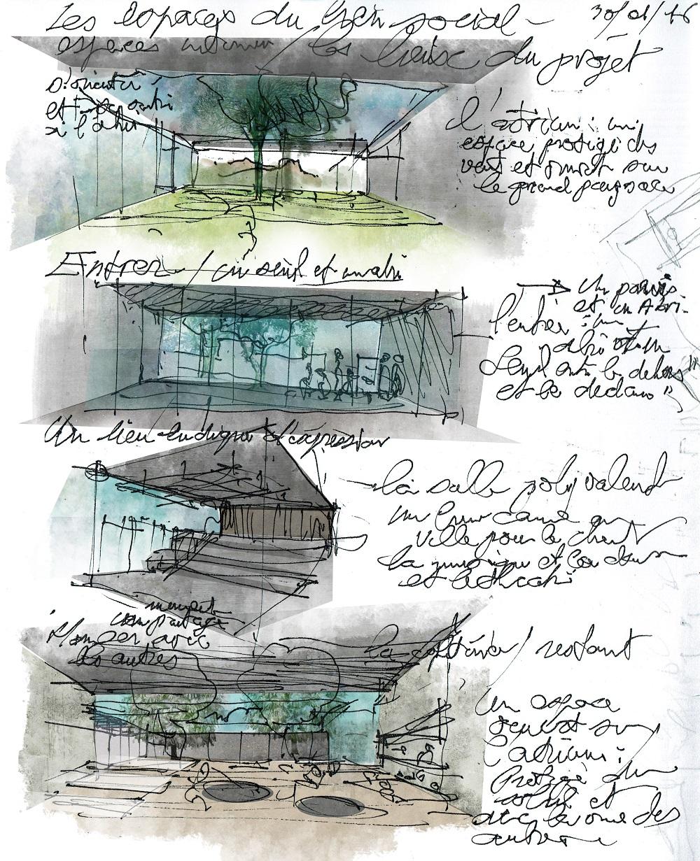 mises en couleurs de vues de projet sycomore architectes paysagiste clermont ferrand 1