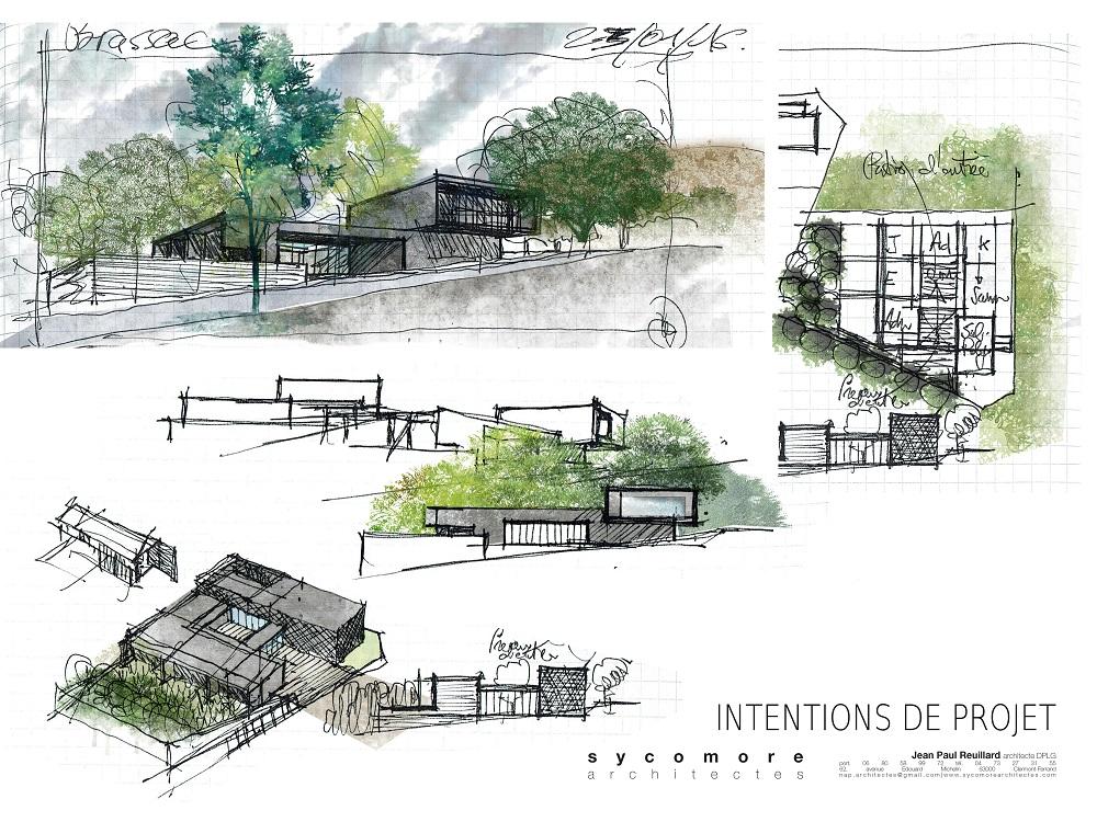 mises en couleurs de vues de projet sycomore architectes paysagiste clermont ferrand 2