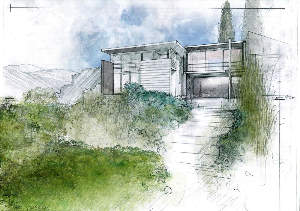 mises en couleurs de vues de projet sycomore architectes paysagiste clermont ferrand 7