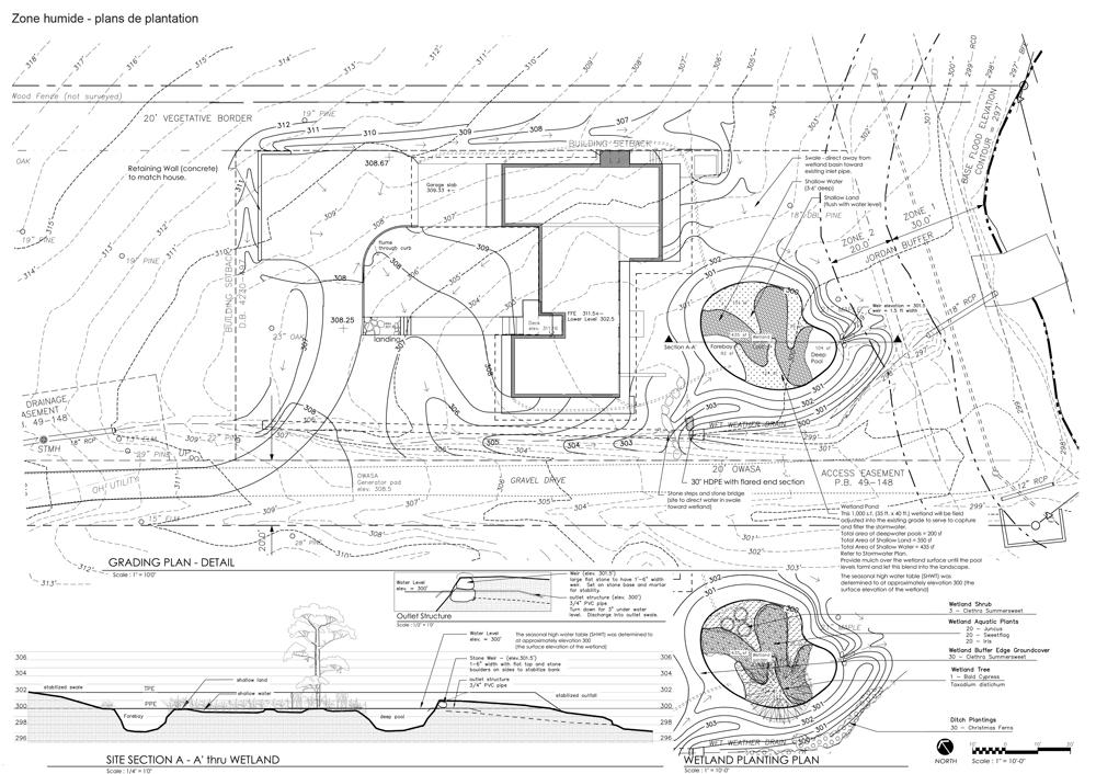 Penser un jardin en bord de lac paysagiste Clermont-Ferrand 2