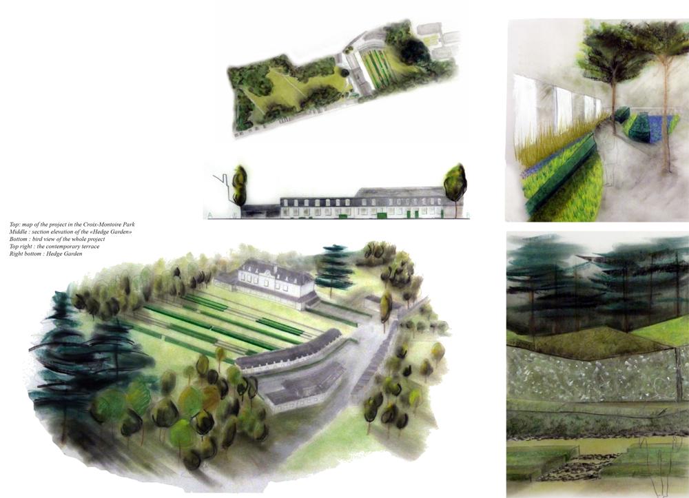 Réhabilitation du parc de la Croix Montoire paysagiste Clermont-Ferrand