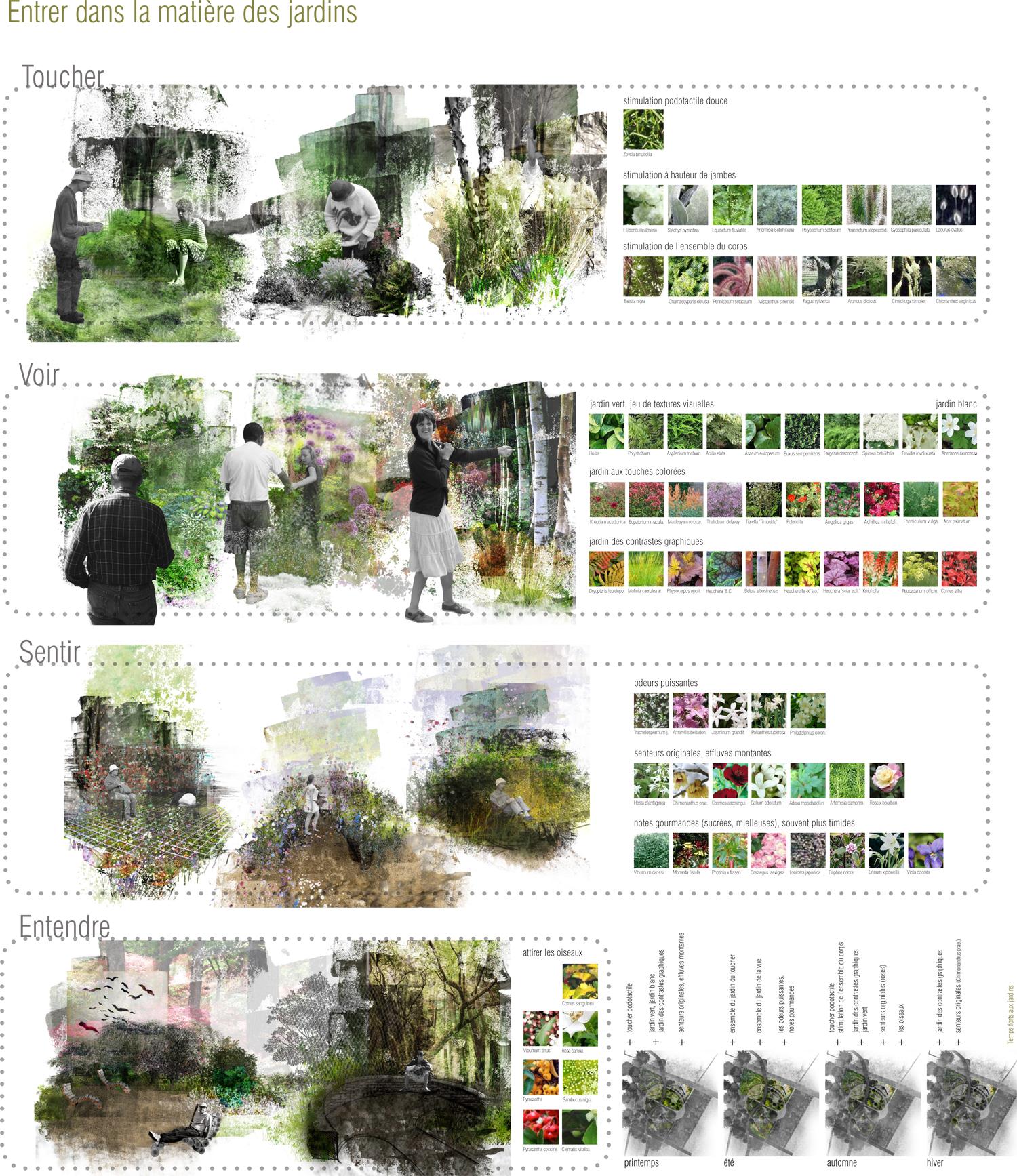 Repenser les parcs et jardins au regard d'un autre monde, l'autisme paysagiste Clermont-Ferrand 2