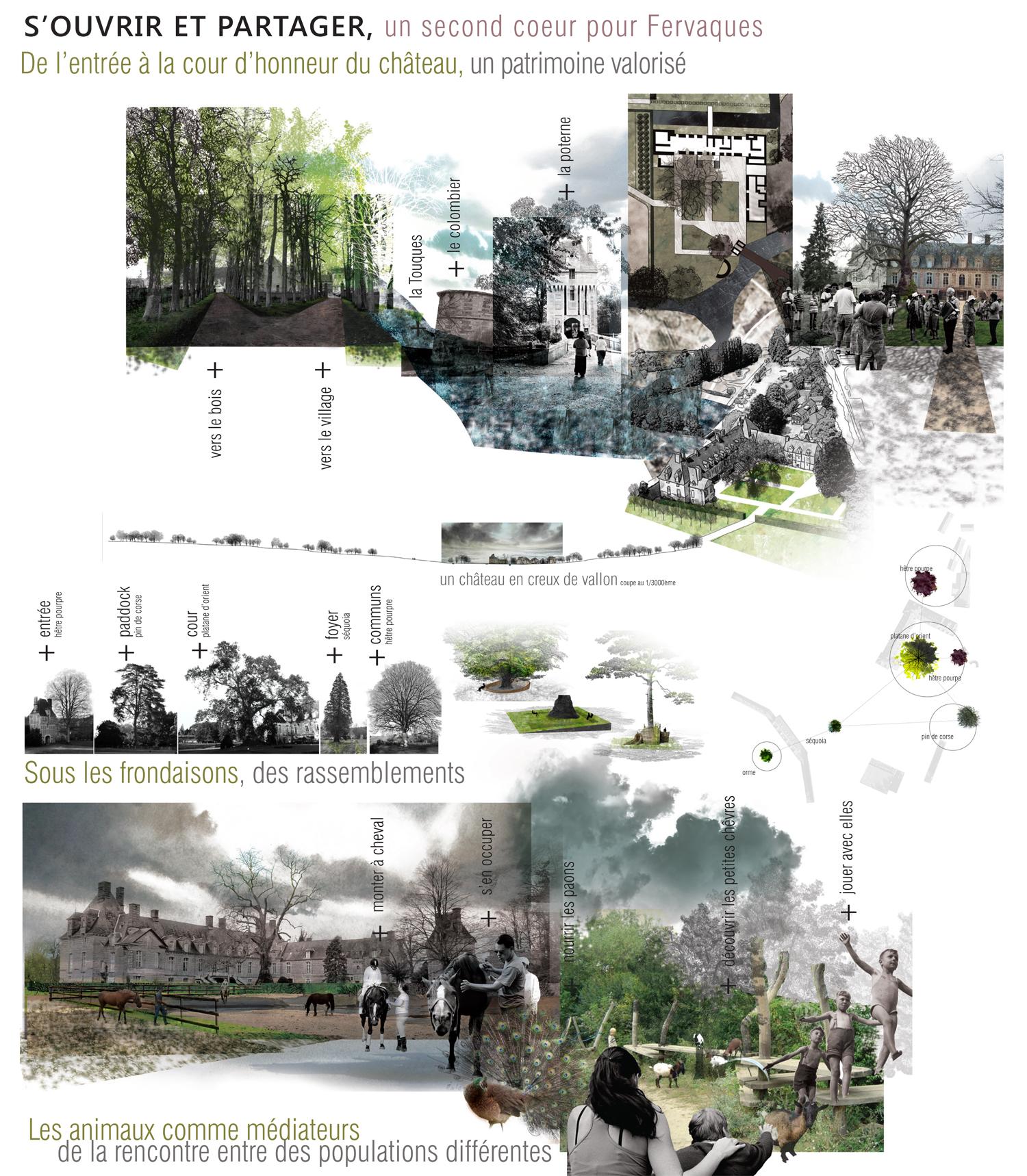 Repenser les parcs et jardins au regard d'un autre monde, l'autisme paysagiste Clermont-Ferrand 4