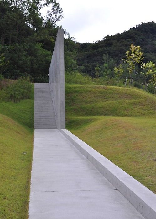 Tadao Ando Lee Ufan museum, Naoshima