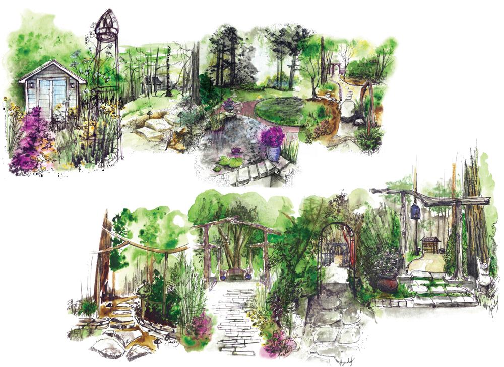 Un jardin à plusieurs visages paysagiste Clermont-Ferrand 5
