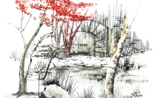 architecte paysagiste clermont ferrand représenter un jardin 2