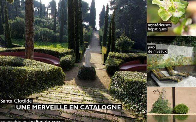 couverture 1 de l'art des jardins article paysagiste Clermont-Ferrand