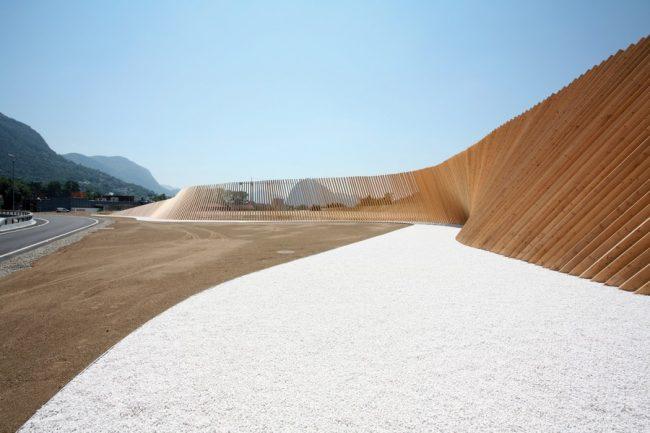 Vedeggio-Cassarate tunnel amenagement paysager par cino zucchi architects